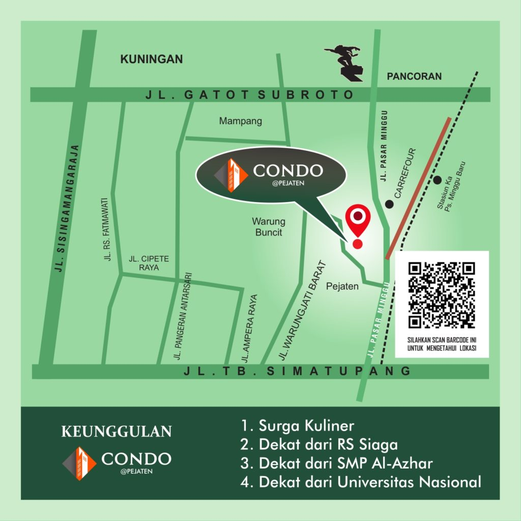 marketing condo pejaten aparthouse